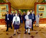 St. Petersburg (Russia): Modi at State Hermitage Museum