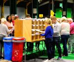 IRELAND DUBLIN GENERAL ELECTION VOTE COUNTING