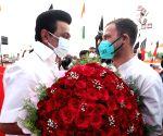 Stalin wishes his 'beloved brother' Rahul Gandhi Happy Birthday