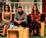 : Mumbai: Promotion of film Rustom on the sets of The Kapil Sharma Show