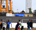 :  Stars Football Practice At Bandra in Mumbai