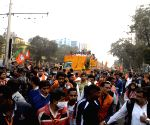 BJP roadshow in Kolkata