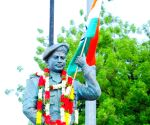 Free Photo: Statue of Colonel martyred in Chinese attack unveiled in Telangana