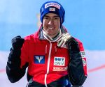 Austrian Stefan Kraft claims 20th career ski jumping WC win