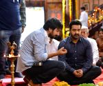 NTR's Jai Lava Kusa Movie Working- Stills