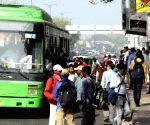 Stranded passengers at New Delhi Railway Station during lockdown