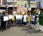 Student activists' demonstration