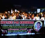 IGIMS student's candle march protest