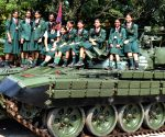 Madras Sappers Regiment  ceremonial parade