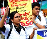 AIDSO rally against WB Govt
