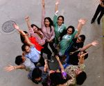 CBSE Class 10 results out, students celebrate
