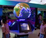 Students during their visit to newly inaugurated 'Science of Ocean'