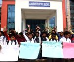 IGIMS students protest
