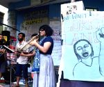 "Kolkata: JU students press for ""Free Gorkhaland"
