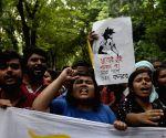Jadavpur University students' protest rally
