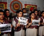 Students pay tributes to Surat fire victims