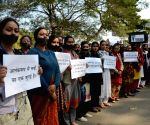 Protests against Pulwama militant attack