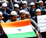Students demonstration against Pulwama militant attack