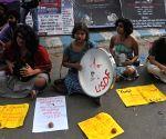 Demonstration against Yogi Adityanath