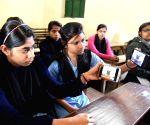 Students watch PM Modi's 'Pariksha Pe Charcha 2.0