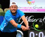 GERMANY STUTTGART TENNIS MERCEDES CUP QUARTERFINALS JAN LENNARD STRUFF VS LUCAS POUILLE