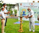 Subdued Yoga day celebrations across Karnataka due to Covid