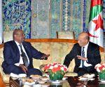 ALGERIA ALGIERS SUDAN PRESIDENT VISIT