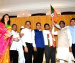 Red faces as Congress leader's son joins BJP
