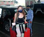 Sukriti Kakar & Prakriti Kakar Spotted At Airport Departure