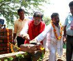 Nuh (Haryana): Trump Sulabh Village - inauguration