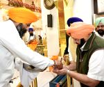 Sultanpur Lodhi: Punjab CM visits Gurdwara Sri Ber Sahib on 550th birth anniversary of Guru Nanak