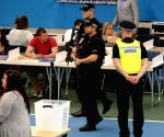 BRITAIN SUNDERLAND GENERAL ELECTION VOTES COUNTING