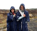 Milind Soman, wife Ankita vacay in Iceland