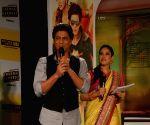 Shah Rukh Khan during promotion of his movie Chennai Express with Kiran Shetty