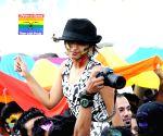 LGBT pride march