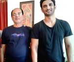 Sushant's throwback picture with his father leaves netizens emotional