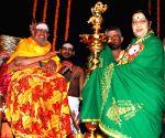 File Photos: Sushma Swaraj with Jayendra Saraswati