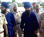 Suspected terrorists presented before court