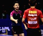 CHINA SUZHOU TABLE TENNIS WORLD CHAMPIONSHIPS MEN'S SINGLES SEMIFINAL