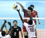 IRAN TEHRAN VOLLEYBALL JAPAN VS QATAR