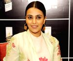 Swara Bhasker shoots in Delhi following Covid guidelines