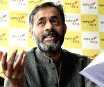 Yogendra Yadav's press conference