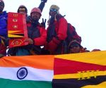 Swarnim Vijay Varsh: Army team successfully summits Bhagirathi-II