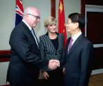 AUSTRALIA SYDNEY CHINA MENG JIANZHU SECURITY DIALOGUE