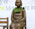 "AUSTRALIA SYDNEY ""COMFORT WOMEN"" STATUE DISPLAY"