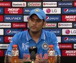 Dhoni addresses press conference