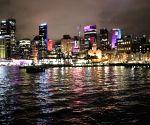 AUSTRALIA SYDNEY VIVID SYDNEY LIGHT SHOW