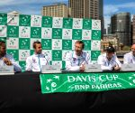 AUSTRALIA SYDNEY TENNIS DAVIS CUP