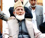 File Photos: Syed Ali Shah Geelani