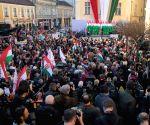 HUNGARY SZEKESFEHERVAR GENERAL ELECTIONS VIKTOR ORBAN CAMPAIGN RALLY